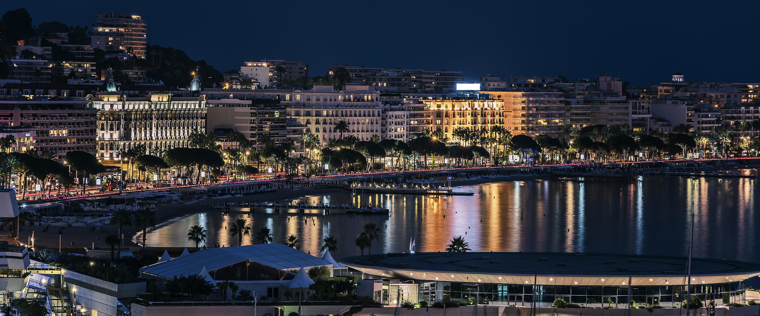 croisette & Bay of cannes